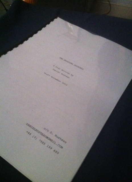 'The Trusting Princess' my new play.