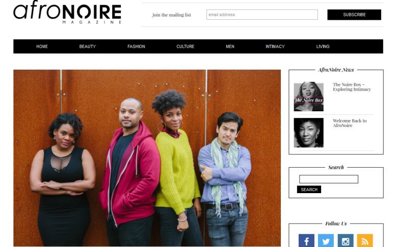 Afro Noire Magazine