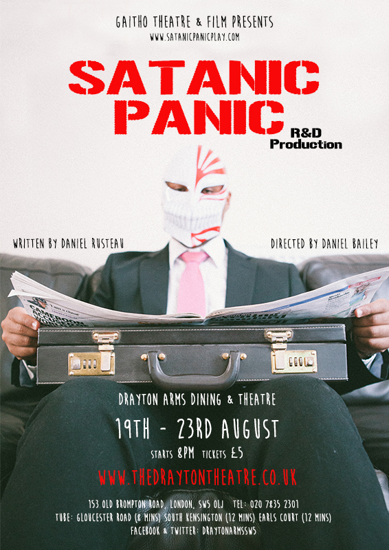 Satanic Panic - E-flyer